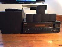 Onkyo 5.1 Surround Receiver system + Yamaha 5.1 Speakers