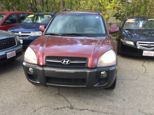 2007 Hyundai Tucson 4x4 SUV Leather Sunroof Alloy Wh  Certified