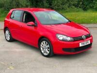 2011 Red Golf 1.6 TDI Blue Tech 105 BHP 5 Dr Hatch 114000 Miles FSH £20 TAX