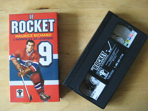 Maurice Richard VHS. 1998