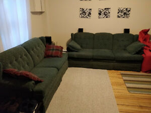 3 Piece matching Couch, Sleeper Sofa, and Chair