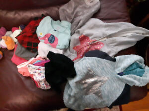 LITTLE GIRL CLOTHES (WINTER)  - SIZE 3T