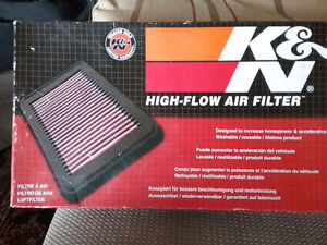 K &N reusable air filter  33-2362