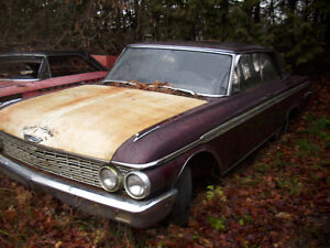 1962 2dr galaxie 500 southern USA car very rust free