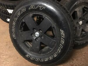 Jeep Wrangler Wheels and Tires, 18 Inch
