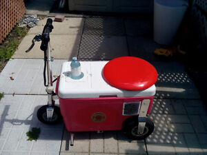 Cooler scooter