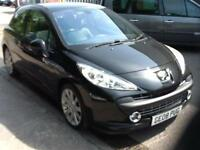 Peugeot 207 1.6HDI 110 GT 69 MPG HALF LEATHER PRIVATE PLATE INCLUDED