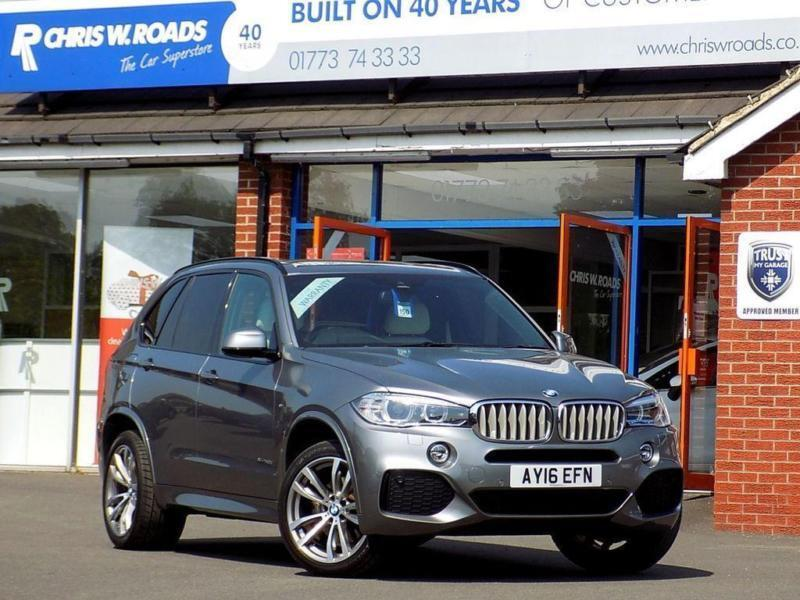 2016 16 Bmw X5 3 0 Xdrive40d M Sport 5dr Auto 7 Seater Sel