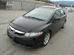 2009 Honda Civic EXI 5 Speed  94000 KMS One Owner B.C Car
