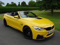 BMW M4 COMPETITION PACK M DCT CONVERTIBLE 2016/16