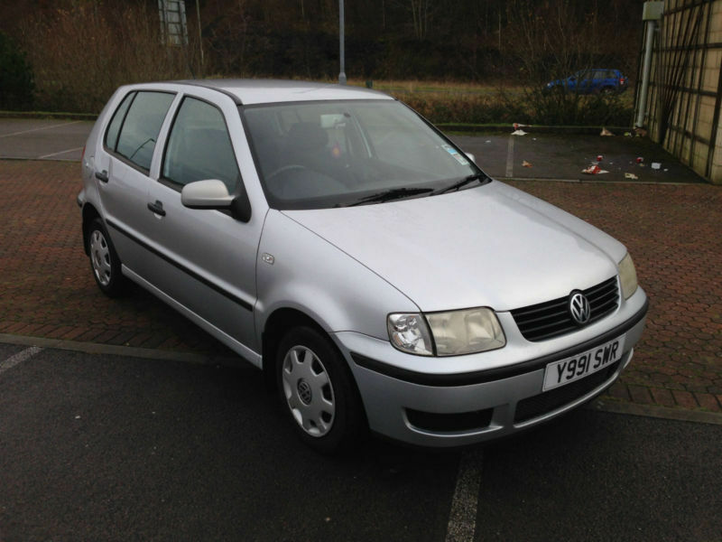 2001 volkswagen polo 1 9 sdi 5 door metallic in blackwood caerphilly gumtree. Black Bedroom Furniture Sets. Home Design Ideas