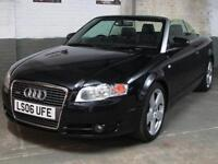 2006 '06' AUDI A4 CABRIOLET 1.8 T 161 BHP S Line CONVERTIBLE LEATHER