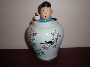 Tintin potiche