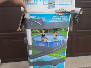 """Very Good Condition 10'x30"""" Above Ground Pool With Pump."""