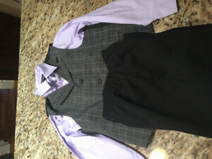 Boys 3 piece suit, size 7