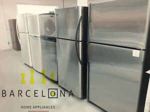 STAINLESS FRIDGES - FREE DELIVERY UNTIL AUGUST 19th