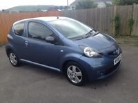TOYOTA AYGO BLUE LTD EDITION 1.0i 08-08 3 DR 92K MOT JULY 2017 EX CONDITION LOW INS GRP ONLY £2199