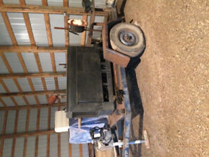 Lincoln Welder and 2 Wheel Trailer