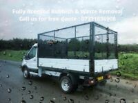 FULLY LICENSED RUBBISH & HOUSE CLEARANCE-JUNK REMOVAL-BUILDER WASTE-GARDEN-GARAGE-OFFICE-SCRAP METAL