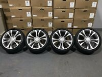 """19"""" S-Line Twin Spoke style on 245x35 Tyres"""