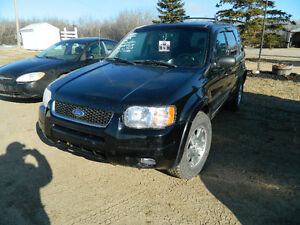 FIRM!!!2004 Ford Escape LIMITED