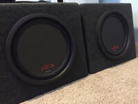Alpine SWR-T12 Subs-with Boxes