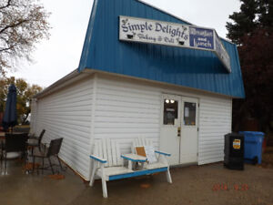 Quaint building for sale in downtown Radville, Sask!