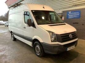 2015 15 VOLKSWAGEN CRAFTER MWB HIGH ROOF 6 SPEED TDI WITH ELECTRIC WINDOWS AND S