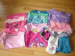 vêtements fillette 4  -  5  ans