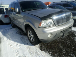 2005 SILVER LINCOLN AVIATOR FOR PARTS
