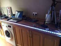 6.5 feet multi colour LED s with remote control