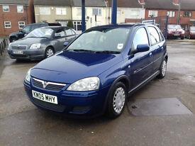 2005 Vauxhall Corsa Design 1.2 5 door, 79.000 MILES,,HPI CLEAR !!!