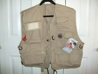 """MUSTANG"" SURVIVAL DELUXE INFLATABLE FISHING VEST"
