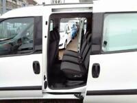 2017 FIAT DOBLO ACTIVE 1.6 MULTIJET 105 BHP 6 SPEED FWD 5 SEAT COMBI VAN EURO 6