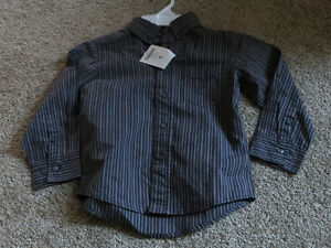 BNWT, boys size 4 dress shirt Kitchener / Waterloo Kitchener Area image 1