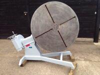 Multi purpose rotary table polishing welding lathe milling machine