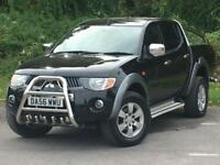 Mitsubishi L200 2.5 DI-D Warrior Double Cab Pickup 4WD 4dr DIESEL MANUAL 2007/56