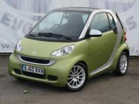 2010 SMART FORTWO COUPE 1.0 PASSION MHD AUTOMATIC ZERO CAR TAXSERVICE HISTORY L