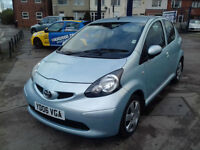 2006 TOYOTA AYGO 1.0 AUTOMATIC, 46000 MILES,FULL HISTORY, HPI CLEAR