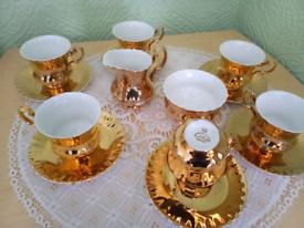 Leonard St Pottery tea set