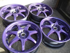 MONTEGI RACING 17 inch rims.