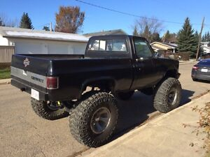 87 Shortbox 4x4 big block