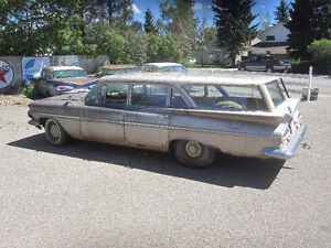 1959 Chevy Parkwood Station Wagon