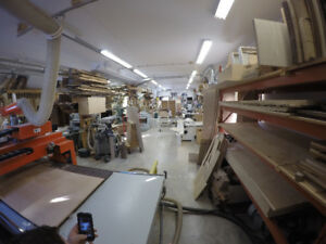 WOODWORKING MACHINERY AND COMPLETE SETUP FOR CUSTOM MILLWORK