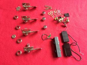 Kit de 4 clés pour bass + pickups p/j actifs Seymour Duncan