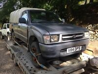 Toyota hilux pickups wanted diesel 4x4