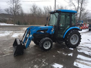 2014 Landini 1-40H 41hp Compact Cab Tractor with Loader