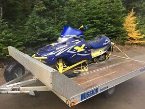 2016 MISSION DOUBLE SKIDOO TRAILER