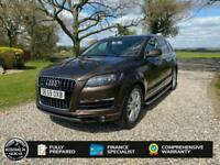 2009 Audi Q7 3.0 TDI QUATTRO SE 7 SEATER AUTOMATIC 4X4 TURBO DIESEL All Terrain