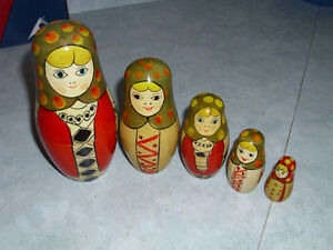 stacking dolls for sale London Ontario image 3
